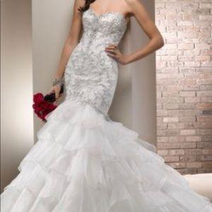 Maggie Sottero Dresses - MAGGIE SOTTERO AGNES WEDDING DRESS
